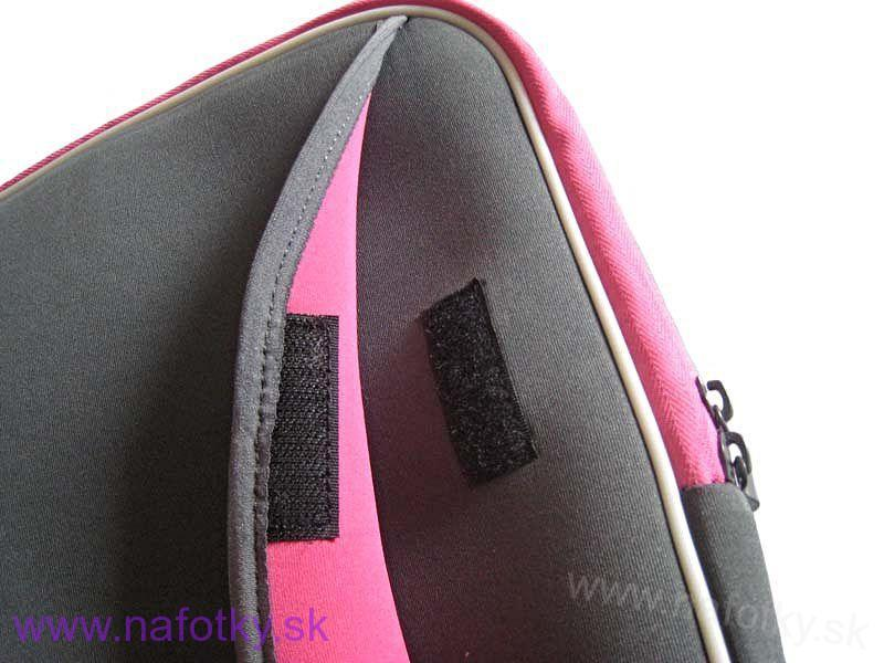 Púzdro na notebook ZIP NOTEBOOK BAG G/PINK B-903-10