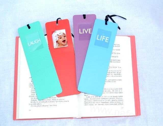 LIVE LIFE PHOTO BOOK MARK