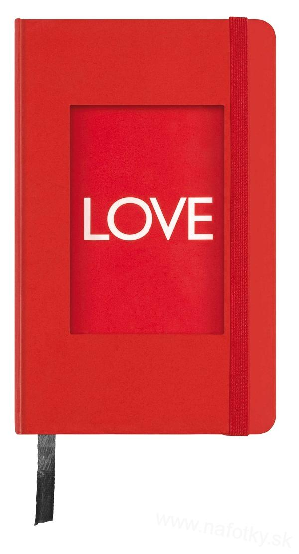 LIVE LIFE PHOTO NOTE BOOK RED