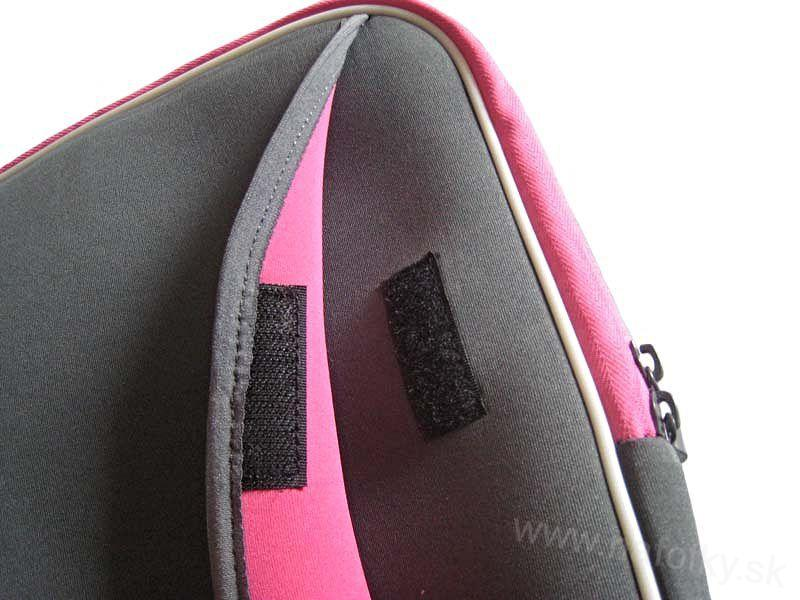 Púzdro na notebook ZIP NOTEBOOK BAG G/PINK B-903-15/16
