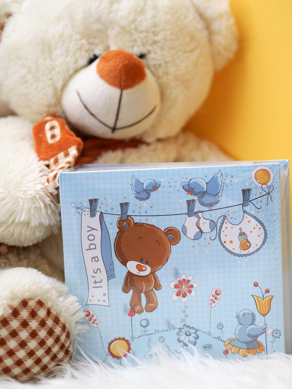 SWEET TEDDY BLUE /EX2/  YO100  10x15 MEMO