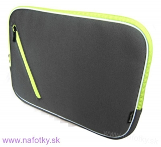 Púzdro na notebook ZIP NOTEBOOK BAG G/GREEN B-903-10