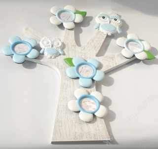 A301  TREE  FRAME BLUE 5x5, 42x44,5