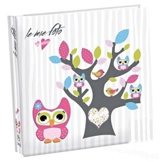 S449 ALBUM 100 13x19 OWLS WHITE
