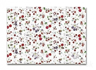 Gift paper Fruits white 50x70cm
