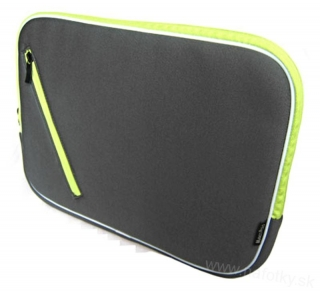 Púzdro na notebook ZIP NOTEBOOK BAG G/GREEN B-903-13